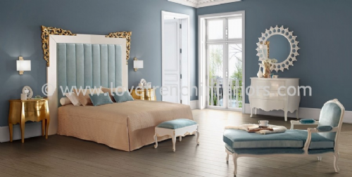 Venezia Bedroom Collection in Blue